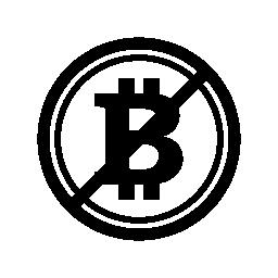 Bitcoin はスラッシュの無料のアイコンとシンボルを受け付けていません