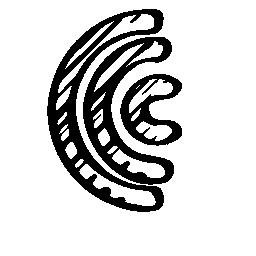 JQuery スケッチ シンボル無料アイコン
