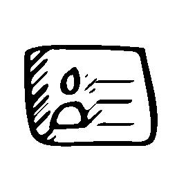 識別スケッチ社会的シンボル無料アイコン