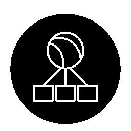 世界純循環シンボル無料アイコン