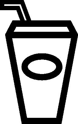 飲むわら無料アイコンとガラスの設定の概要