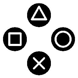ソニー ps ボタン無料のアイコン