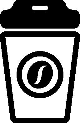 ソーダやコーヒーの覆われ、ガラス無料のアイコン