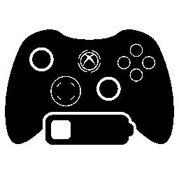 低バッテリ無料アイコンとゲーム コントロール