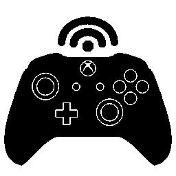 Xbox 1 つの無線制御の無料アイコン