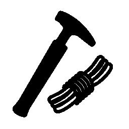 登山機器無料アイコン