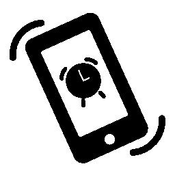 電話アラーム無料アイコン