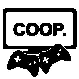 協調のゲームの無料のアイコン