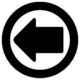 サークル無料アイコンの左矢印