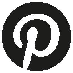 Pinterest 円形ロゴ シンボル無料アイコン
