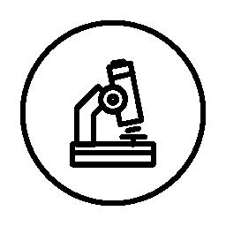 サークル無料アイコンで顕微鏡の概要