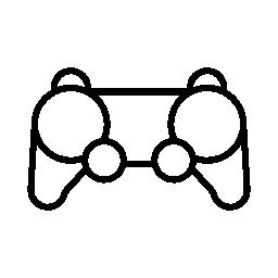 ゲーム コント ローラーの無料アイコン