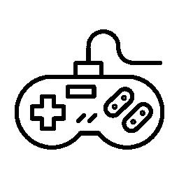 ビデオゲームのコント ローラーの無料アイコン