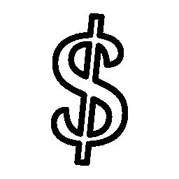 ドル通貨シンボル バリアント無料アイコン