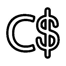 ニカラグア コルドバ通貨シンボル無料アイコン
