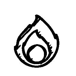 エンバー スケッチ社会ロゴ無料アイコン