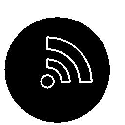 ワイヤレス インター ネット接続シンボル無料アイコン