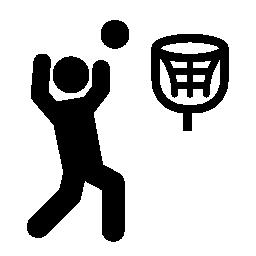 バスケット ボール プレーヤー無料アイコン