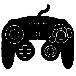 任天堂ゲーム キューブ制御無料アイコン