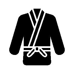 格闘技服無料アイコン