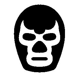 戦闘機のマスクの無料のアイコン