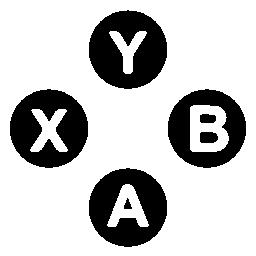 Xbox ボタン無料アイコンを設定