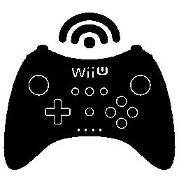 Wii と u のワイヤレス ゲーム制御ツール無料アイコン