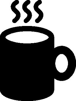 ホット コーヒーの jar ファイル無料のアイコン