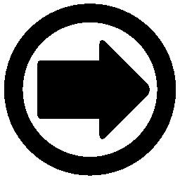 サークル無料アイコンで右矢印