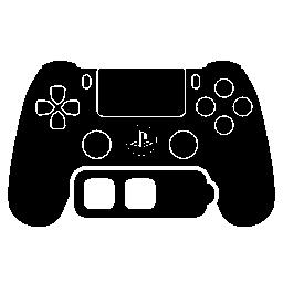 中バッテリー無料アイコンと Ps4 ゲーム コントロール