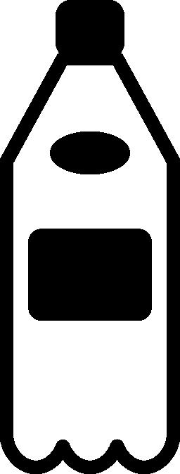 水のボトルの無料アイコン