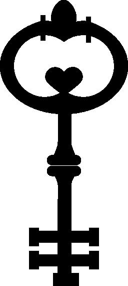 ビンテージの鍵無料のアイコン