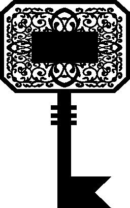 キー装飾デザイン無料のアイコン