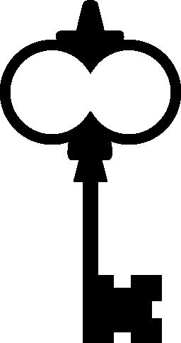 ビンテージのデザイン無料のアイコンのキー