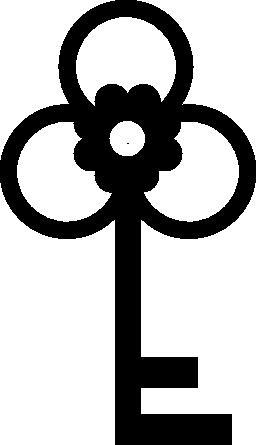 お花の鍵無料のアイコン