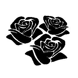 バラ グループ無料アイコン