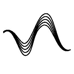 データ波無料アイコン