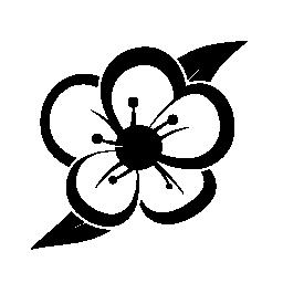 フルーツ ツリー無料アイコンの花