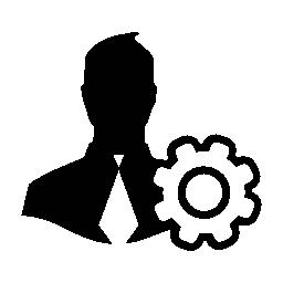 ユーザー設定インタ フェース シンボル無料アイコン
