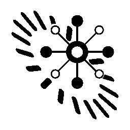 データ analytics 円形シンボル無料アイコン