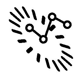 データ analytics シンボル無料アイコン