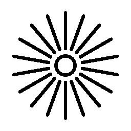 円のグラフィックス無料アイコンの散布図します。