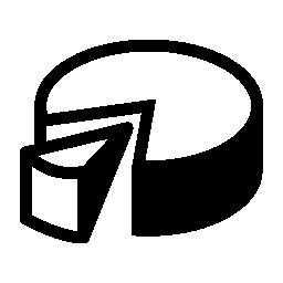 3d 円グラフ グラフィック無料アイコン
