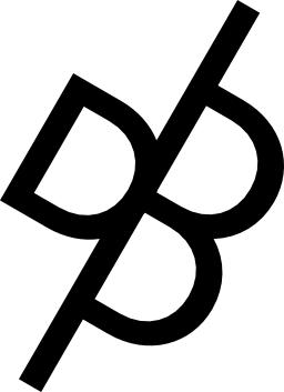 ダニエル ブルース ロゴ無料アイコン