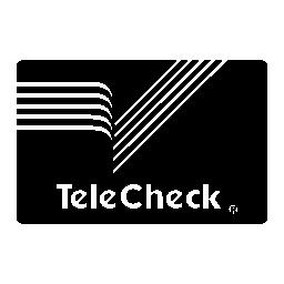 Telecheck 支払いカード無料アイコン