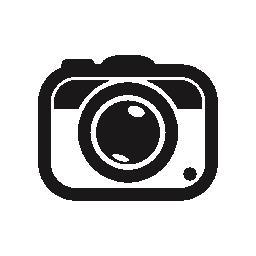 写真カメラ ツール丸いシンボル無料アイコン