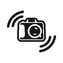 コーナー無料アイコンの行の写真カメラのシンボル