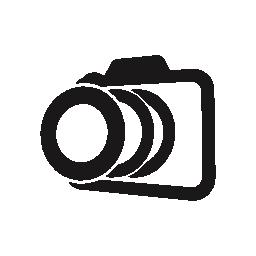 パースペクティブ バリアント無料アイコンの写真カメラの概要
