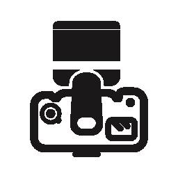 写真カメラ、バリアント無料アイコン