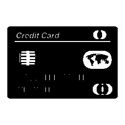 クレジット カード無料のアイコン
